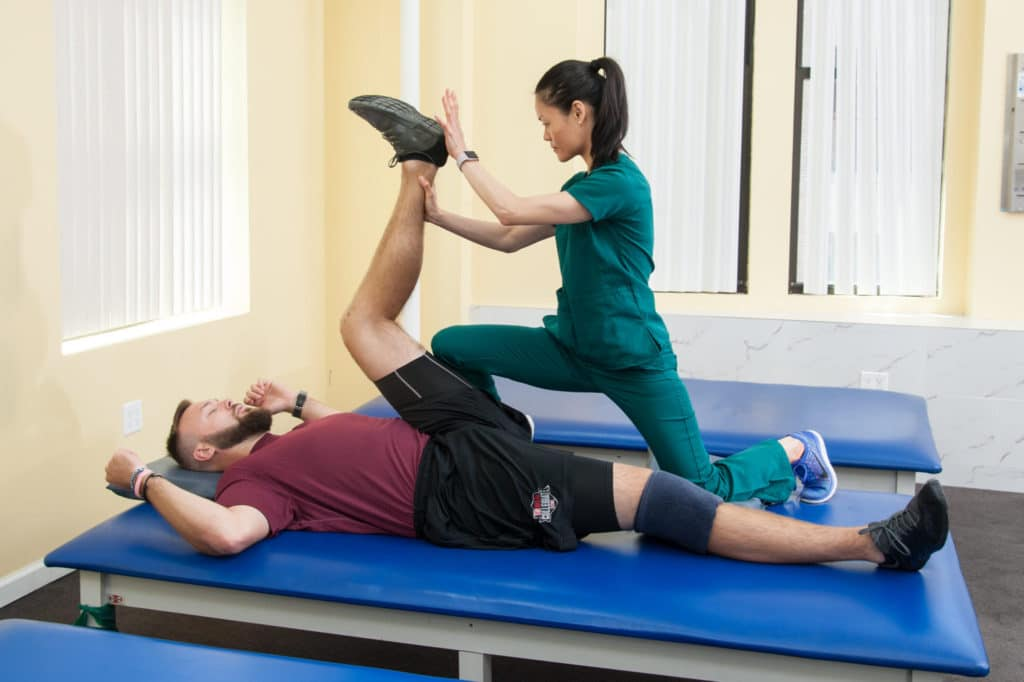 our physical therapy services in our manhattan clinic