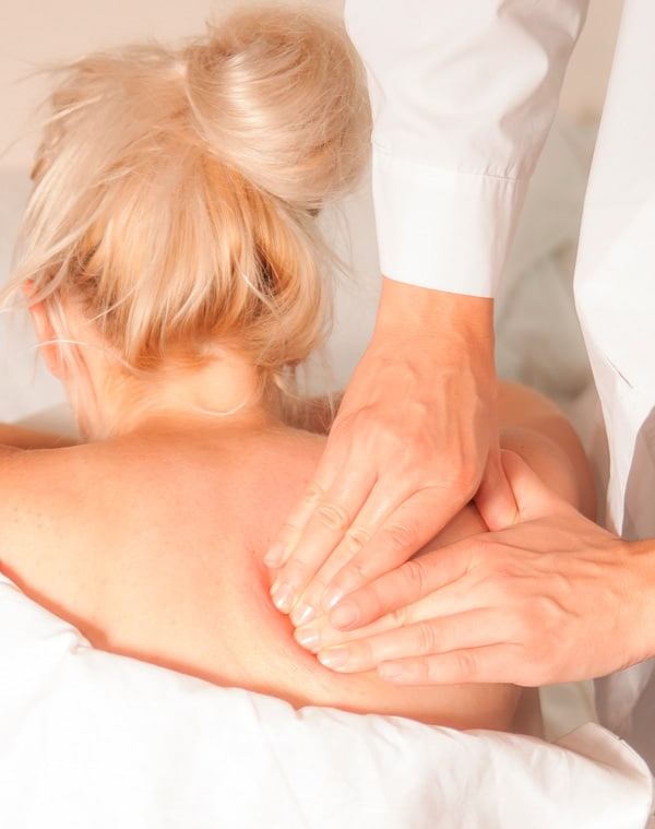 getting a massage relieves stress and muscle tension